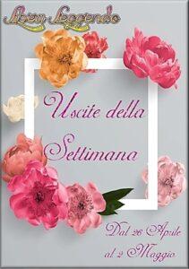Book Cover: Uscite della Settimana dal 26 Aprile al 2 Maggio