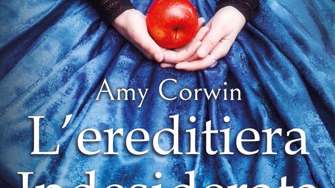 L'ereditiera indesiderata di Amy Corwin – COVER REVEAL