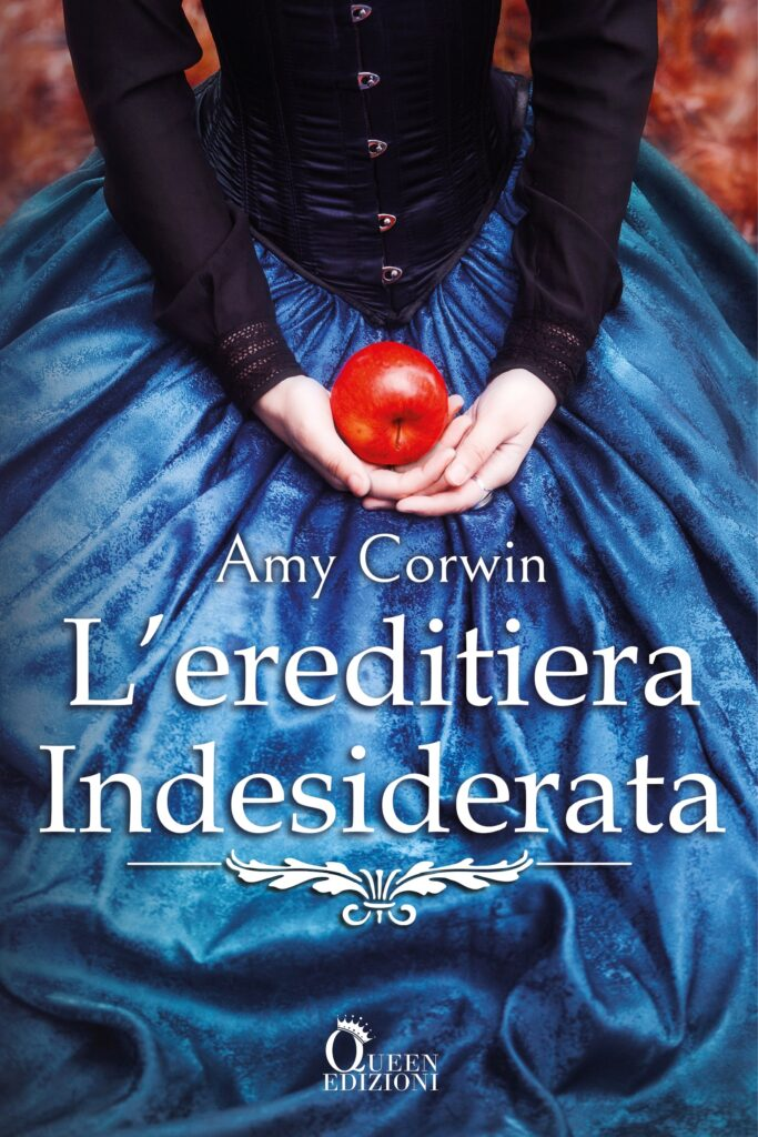 Book Cover: L'ereditiera indesiderata di Amy Corwin - COVER REVEAL