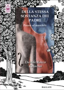 Book Cover: Della stessa sostanza dei padri - Poesie al Maschile di Davide Rocco Colacrai - RECENSIONE