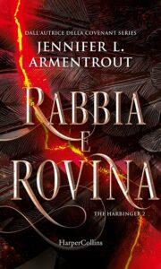 Book Cover: Rabbia e rovina di Jennifer L. Armentrout - ANTEPRIMA