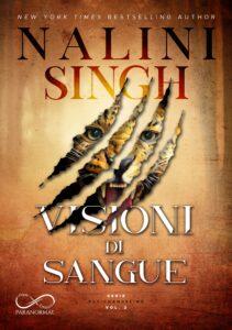 Book Cover: Visioni di sangue di Nalini Singh - COVER REVEAL