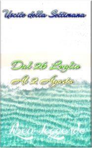 Book Cover: Uscite della Settimana dal 26 Luglio al 2 Agosto 2021
