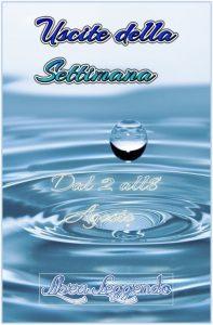 Book Cover: Uscite della Settimana dal 2 all'8 Agosto 2021