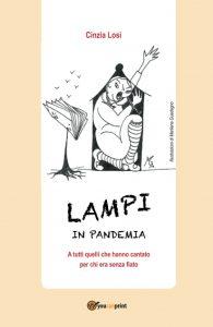 Book Cover: Lampi in pandemia di Cinzia Losi - RECENSIONE