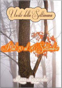 Book Cover: Uscite della Settimana dal 20 al 26 Settembre