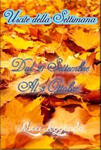 Book Cover: Uscite della Settimana dal 27 Settembre al 3 Ottobre 2021