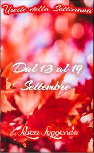 Book Cover: Uscite della Settimana dal 13 al 19 Settembre 2021