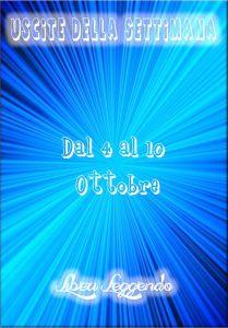 Book Cover: Uscite della Settimana dal 4 al 10 Ottobre 2021
