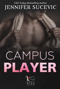 Book Cover: Campus Player di Jennifer Sucevic - COVER REVEAL